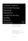 Employer views of the Gender Pay Gap Reporting Regulations - Cover