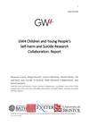 GW4 Children and Young People's Self-harm and Suicide Research Collaboration - Report Cover