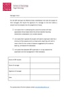 Manager's Form