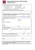 Senior Doctoral Awards application form